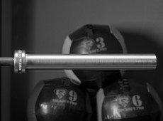 Гриф соревновательный «Булава» 20кг Мужской Чёрный оксид