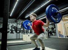 Помост для тяжёлой атлетики встраиваемый