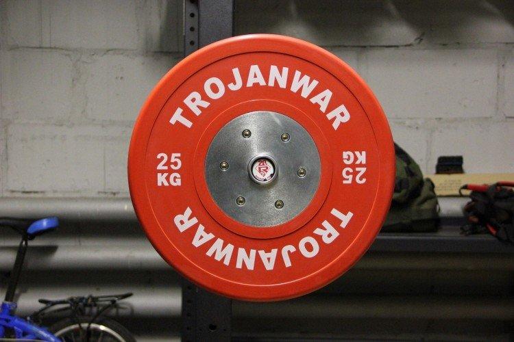 Диск соревновательный 25 кг