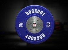 Диск соревновательный 20 кг синий
