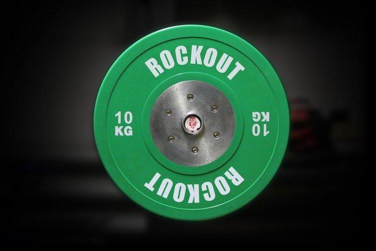 Диск соревновательный 10 кг зеленый