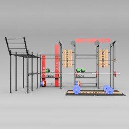 Готовый проект кроссфит зала