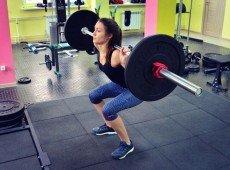 Помост для тяжёлой атлетики (резина)